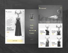 """查看此 @Behance 项目:""""Free UI PSD Mobile App Fashion & Ecommerce ver 2.0""""https://www.behance.net/gallery/34734075/Free-UI-PSD-Mobile-App-Fashion-Ecommerce-ver-20"""