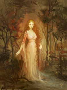 Lady of the Lake by JanainaArt.deviantart.com on @DeviantArt