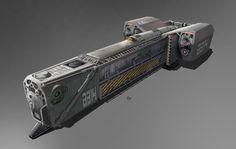 ArtStation - spaceship, Giacomo Tappainer