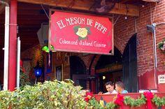 Cuban Restaurant - Fun eats outside