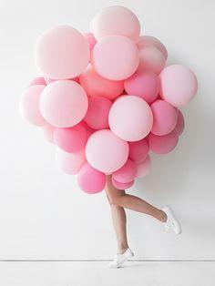 bubble gum style balloons!