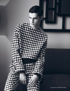 Matthew Bell photographed by Cecilie Harris and styled by Chad Burton