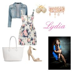 """""""Lydia shopping"""" by katjag596 ❤ liked on Polyvore featuring Boohoo, Cameo Rose, Loushelou and Henri Bendel"""
