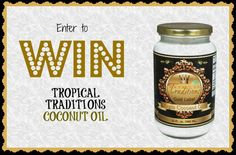 GREAT GIVEWAY FOR COCONUT OIL