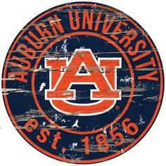 Man Cave Fridge Official National Collegiate Athletic Association Fan Shop Authentic NCAA Team Magnet Banner Logo Magnet Approx 12 Diameter Auburn Tigers Great for Cars Boats