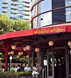 Whether You Are Dining In Our Lavish Room Or Enjoying A Tail With The S On Patio Bistro Niko Has Best Views Buckhead