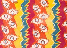 Textiles depicting the mass use of the light bulb in Soviet era Russia. Ethnic Patterns, Textile Patterns, Textile Prints, Textile Design, Fabric Design, Print Patterns, Textiles, Geometric Patterns, Surface Pattern