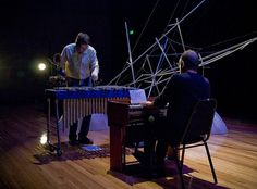 Liquid Architecture 10 Sydney: Concert Two at the Performance Space at CarriageWorks. Whirlpool - Chris Abrahams & Kraig Grady. Photography by Toby Grime.     ...(See the best #Art installations in     NYC at https://www.artexperiencenyc.com