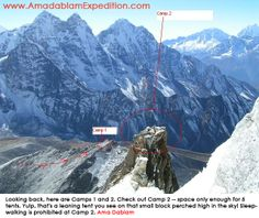 Nepal Ama Dablam Mountain ( 6812 meters / 22349 feet) Expedition http://www.AmadablamExpedition.com/