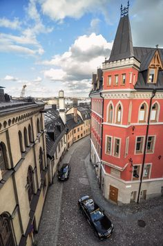 Mikael Blomkvist's house in Stockholm