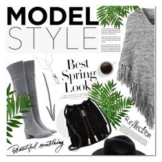 """""""Grey mood"""" by vanjazivadinovic ❤ liked on Polyvore featuring moda, H&M, Topshop, Gianvito Rossi, Vince Camuto e polyvoreeditorial"""