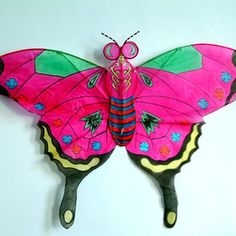 Traditional Chinese kites are often made in the shapes of butterflies, insects and dragons.