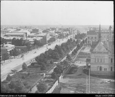 King, Henry, 1855-1923. View across Adelaide, South Australia, ca. 1890 [transparency]