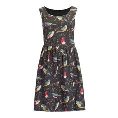 <p>I do love a good novelty print, and whatever you think of Cath Kidston, she does do some excellent novelty prints. This Garden Birds print is on a black background, so sombre enough for miserable winter days and wearing with black tights, but you can't be miserable and wintery with …</p>
