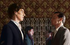 """""""Reflections""""  Amazing Sherlock fanart"""