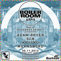 Adam Beyer Boiler Room x Warehouse Project mix by BOILER ROOM on SoundCloud