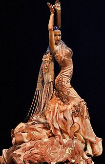 Cecilia Gómez, Flamenco spanish dancer                                                                                                                                                                                 Más