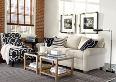 Keep It Casual Living Room | Ethan Allen