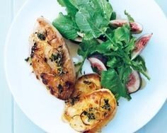 Tender chicken, sweet honey and crispy, salty halloumi are baked together in Donna Hay's simple but stunning recipe