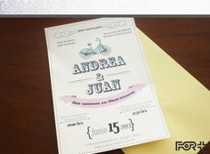 Partes de Matrimonio / invitaciones de boda / wedding invitation