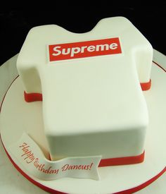 Birthday Cake for Supreme Fan