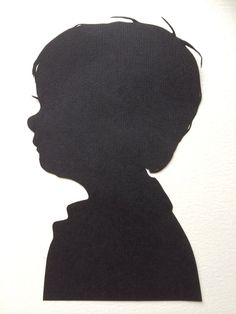 Two Custom Hand Cut Silhouette Cameo each 8  by SilhouettesbyElle, $50.00