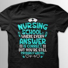 Nursing School... exactly haha