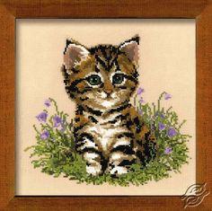Cat Putzi - Cross Stitch Kits by RIOLIS - 933