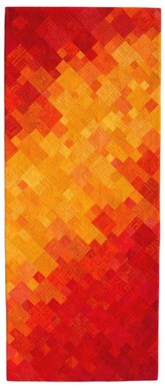 "Behold, 78"" x 32"", by Diane Melms 