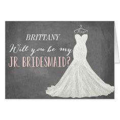 Will You Be My Junior Bridesmaid   Bridesmaid