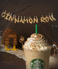 6 New Starbucks Frappuccino Flavors - The Cinnamon Roll Frappuccino is an official Starbucks menu item now! Starbucks Coffee Beans, Starbucks Secret Menu Drinks, Coffee Drinks, Starbucks Recipes, Frappuccino Flavors, Starbucks Frappuccino, White Chocolate Sauce, White Chocolate Mocha, Coffee Presentation