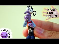 Fear (Inside Out) Polymer Clay Miniature Character Figure Tutorial - YouTube