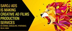 Films has always been the most effective when it comes to capturing the audiences' attention. Saroj Ads which is a leading Ad Film Agency in Chennai, Hyderabad, Delhi and Bangalore offer commercial and professional ad film services that you will need to represent your company in a thoughtful, imaginative and convincing manner.