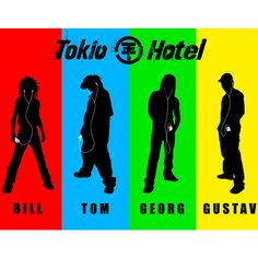 ❤ liked on Polyvore featuring tokio hotel