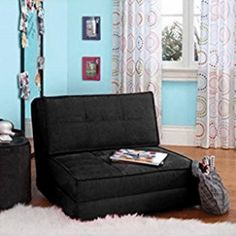 online shopping for Your Zone - Flip Chair Convertible Sleeper Dorm Bed Couch Lounger Sofa Multi Color New (Blue) from top store. See new offer for Your Zone - Flip Chair Convertible Sleeper Dorm Bed Couch Lounger Sofa Multi Color New (Blue) Decor, Sleeper Chair, Couch Bed, Dorm Bedding, Kids Seating, Futon, Living Room Furniture, Room, Chair Bed