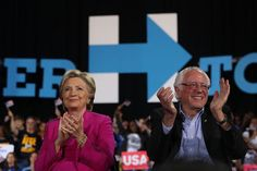 """%TITTLE% -       (Photo: Justin Sullivan/Getty Images)  Today in """"Hoo, boy"""": Hillary Clinton's election memoir, What Happened, includes a passage in which she writes that Bernie Sanders' die-hard supporters are partially to blame for Donald Trump's win. The excerpt—which has been shared by The Daily Dot... - http://9gags.site/hillary-clinton-says-bernie-bros-helped-trump-win.html"""