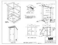 Enjoyable Outhouse Plans Ideas Building Outhouses Construction Plans At Largest Home Design Picture Inspirations Pitcheantrous