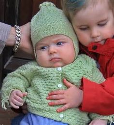 now upsized to Baby Knitting Pattern size