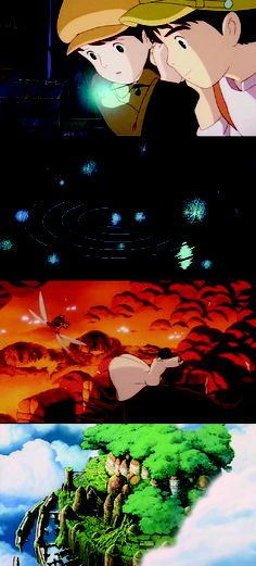 Tenkû no shiro Rapyuta(Laputa: Castle in the Sky), 1986 (dir. Hayao Miyazaki) [more Laputa here]