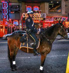 On patrol - NYC