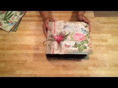 ▶ Botanical Tea Mini Album video  This is a great mini.  Lots of pages with great techniques!