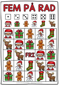Bilderesultater for juleoppgaver barn Christmas Worksheets, Christmas Math, Christmas Activities, Family Christmas, All Things Christmas, Activities For Kids, Christmas Crafts, Xmas, 1st Grade Crafts