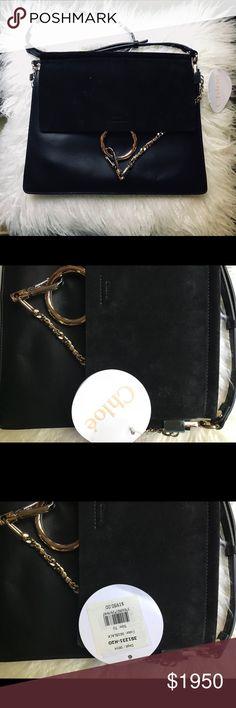 d7670aad97 NEW Chloe Faye Handbag Brand New Chloe Faye Suede Shoulder Bag - Smooth  calfskin  amp