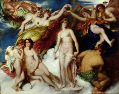 Pandora Crowned by the Seasons, 1824 William Etty (1787 – 1849)