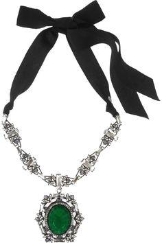 Lanvin|Swarovski crystal necklace