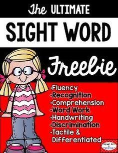 Sight Words FREE