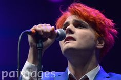 Former My Chemical Romance singer Gerard Way performs during day two of Leeds Festival in Bramham Park, Leeds.
