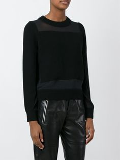 #rag&bone #black #sweater #women #jersey #fashion #style www.jofre.eu