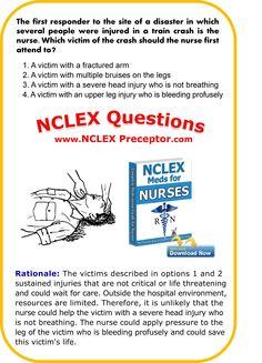FREE NCLEX tips for Registered Nurses.  Nursing healthcare tips to pass NCLEX. #NCLEXCoreMeasures www.nclexpreceptor.com Nursing Goals, College Nursing, Nursing Tips, Nursing Schools, Nursing Students, Nclex Practice Questions, Nursing Questions, Nclex Questions, Rn Nurse