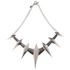 Black Panther Cosplay Spiked Collar Necklace Marvel Comics Avengers Spikes NEW #Bioworld #Necklace #CosplayCostume